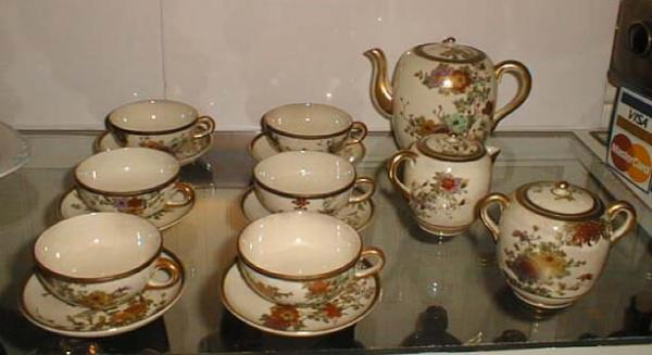 Price My Item: Value of Antique Japanese Satsuma china tea set