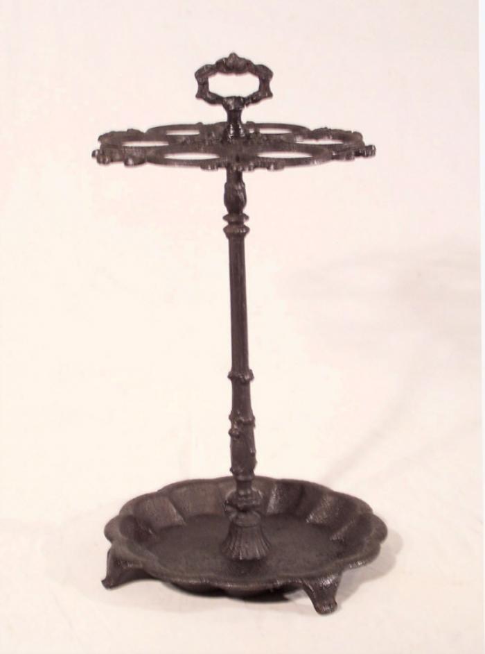Victorian cast iron cane and umbrella stand c1870
