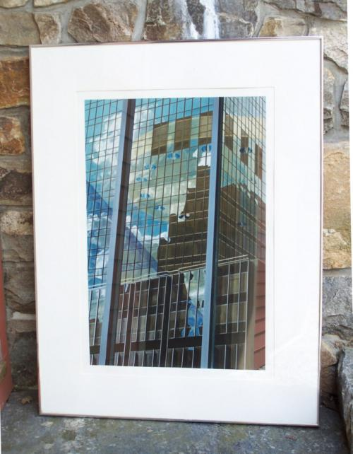 Brendan Nieland limited edtion silkscreen print c1984