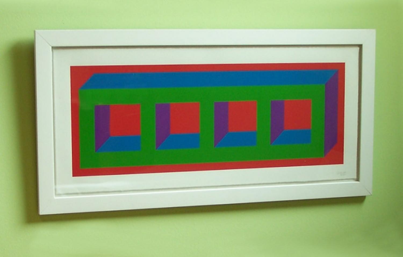 Sol Lewitt Four Color Isometric Figure c2002
