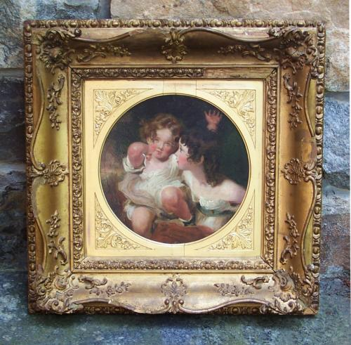 The Calmady Children painted after Sir Thomas Lawrence