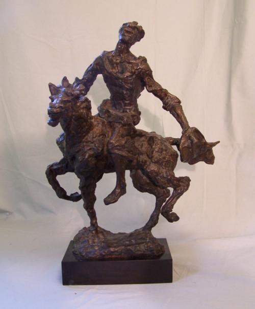 Mattie Berhang bronze Horseman of the Apocalypse