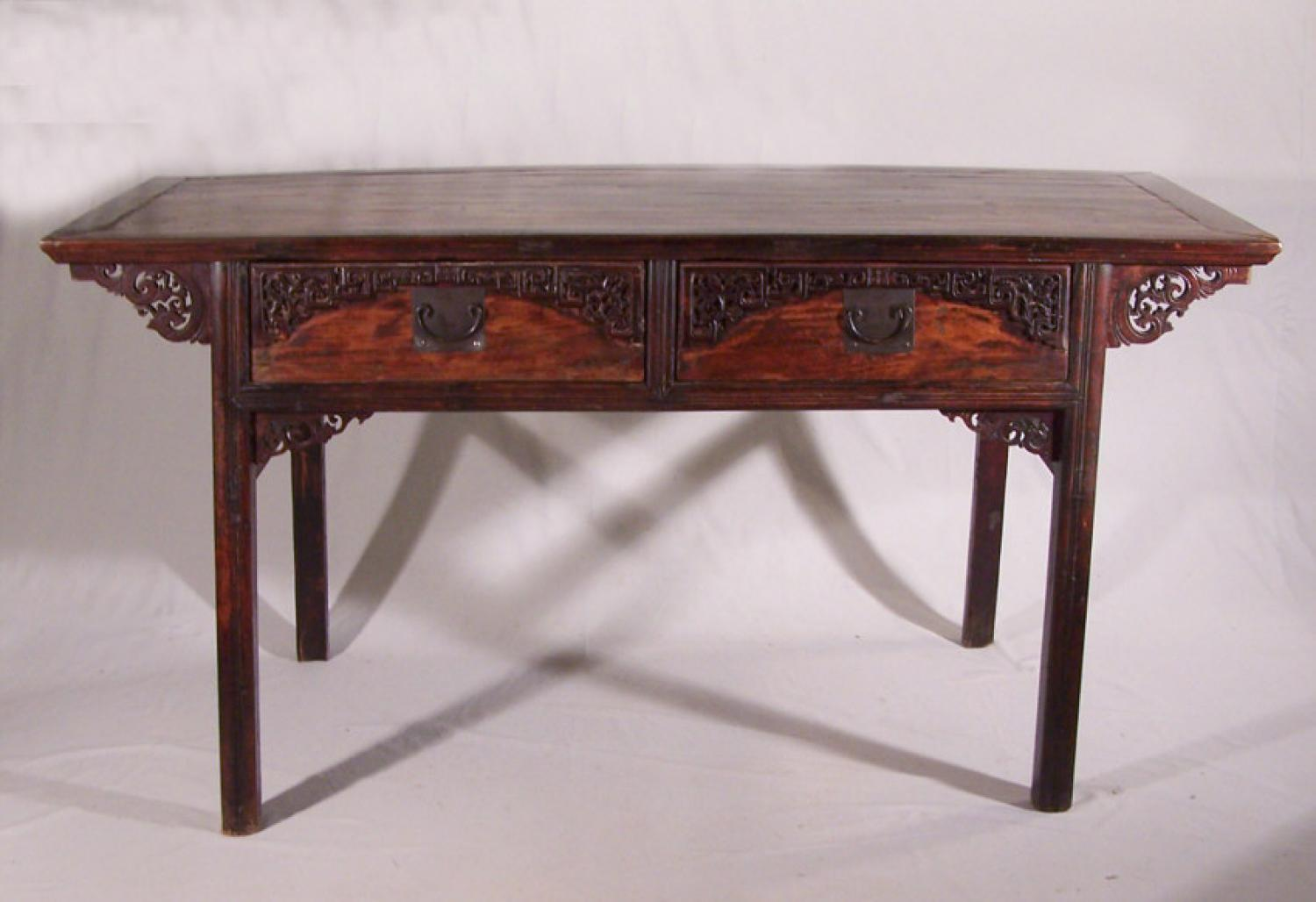 Early Chinese server or scroll table c1800