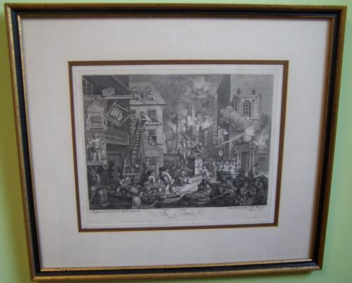 William Hogarth engraving The Times Sept 7 1762