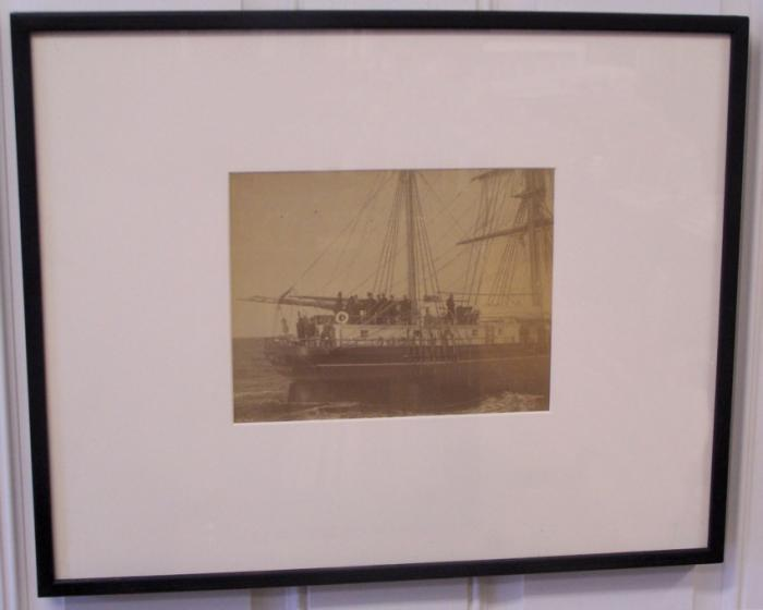 Maritime photograph the ship Sarah by N L Stebbins Boston