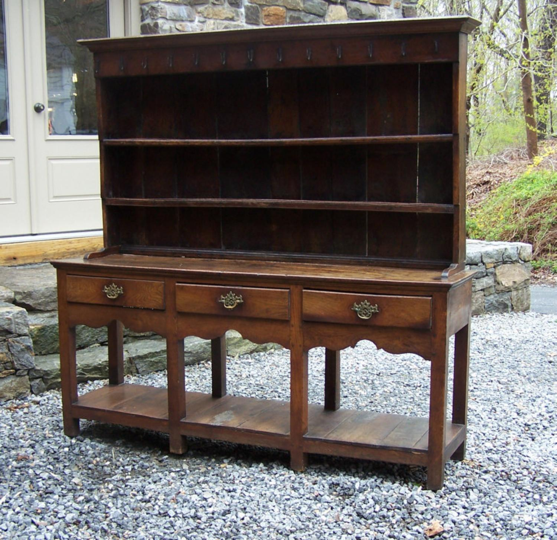 Welsh oak dresser c1790
