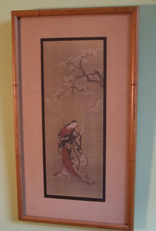 18th c Japanese painting by Joshin