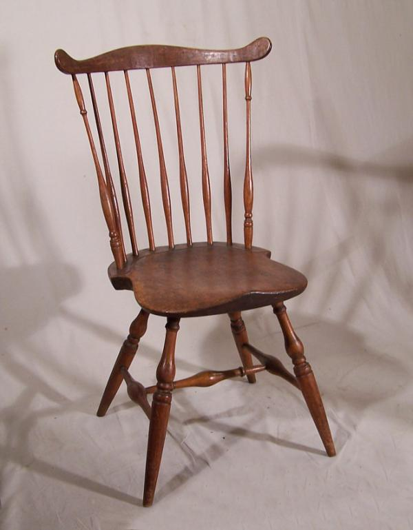 New England Comb Back Windsor Chair C1780