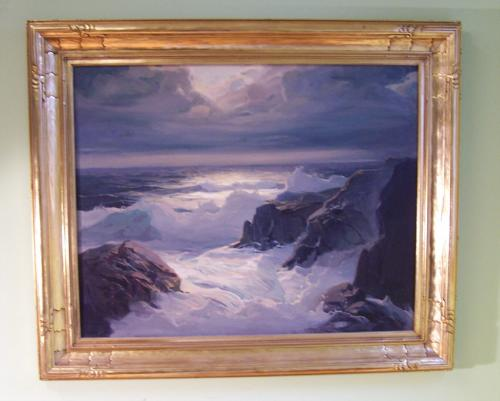 Frederick Judd Waugh stormy seascape