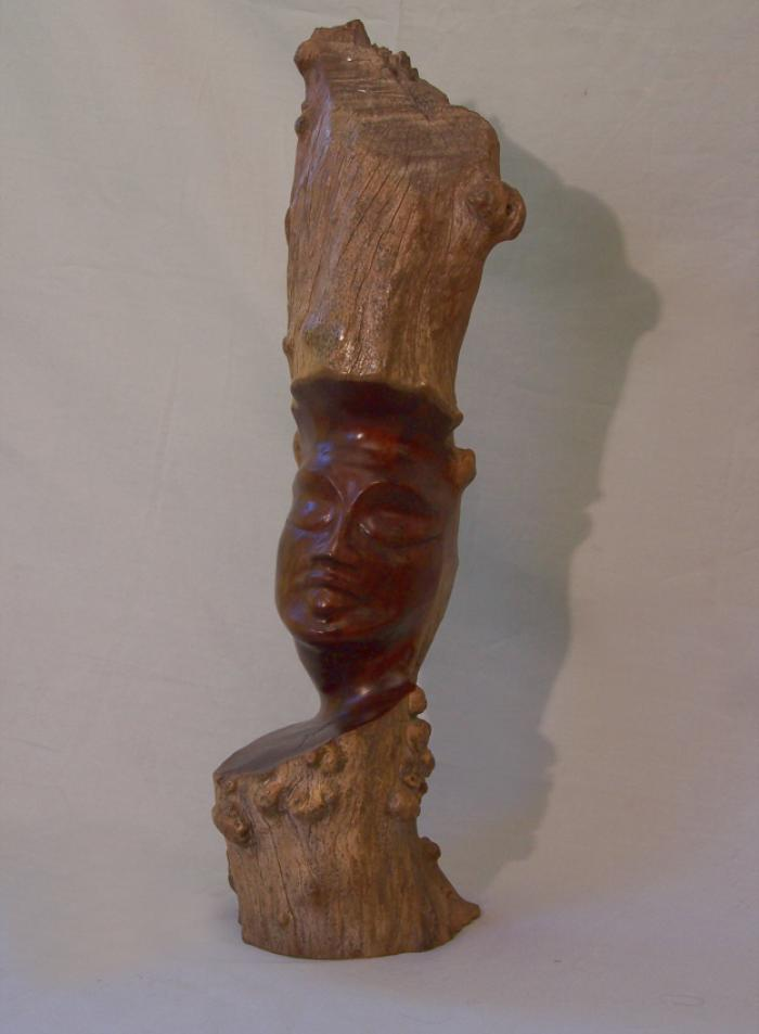 Vintage Hawaiian root sculpture hand carved