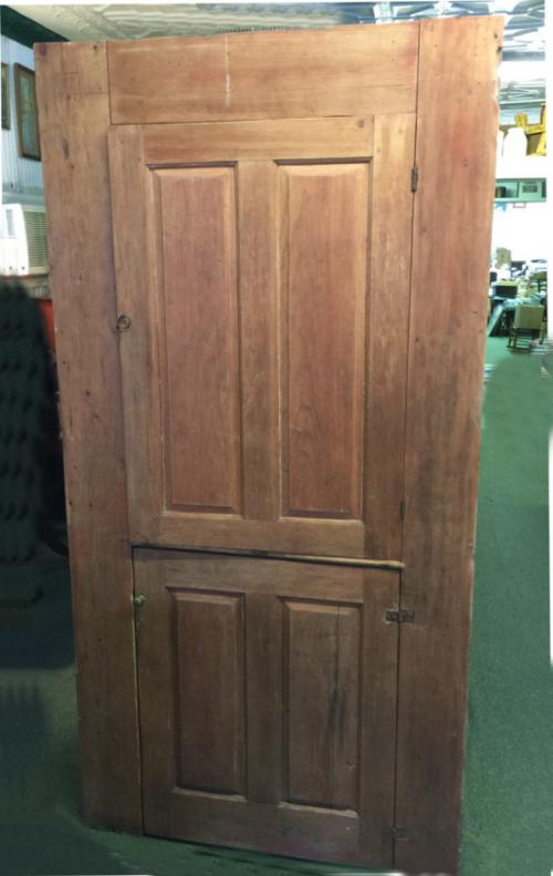 Period American country New England built in cupboard c1740
