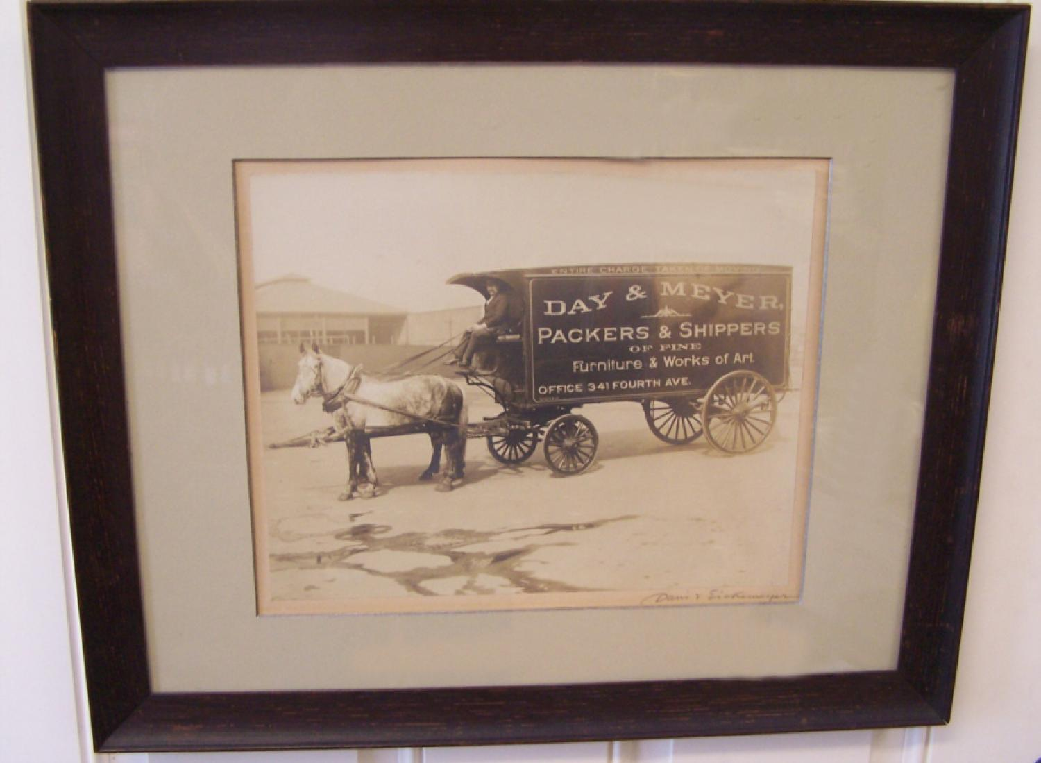 Day and Meyer Packers and Shippers photo by Davis and Eickemeyer c1900