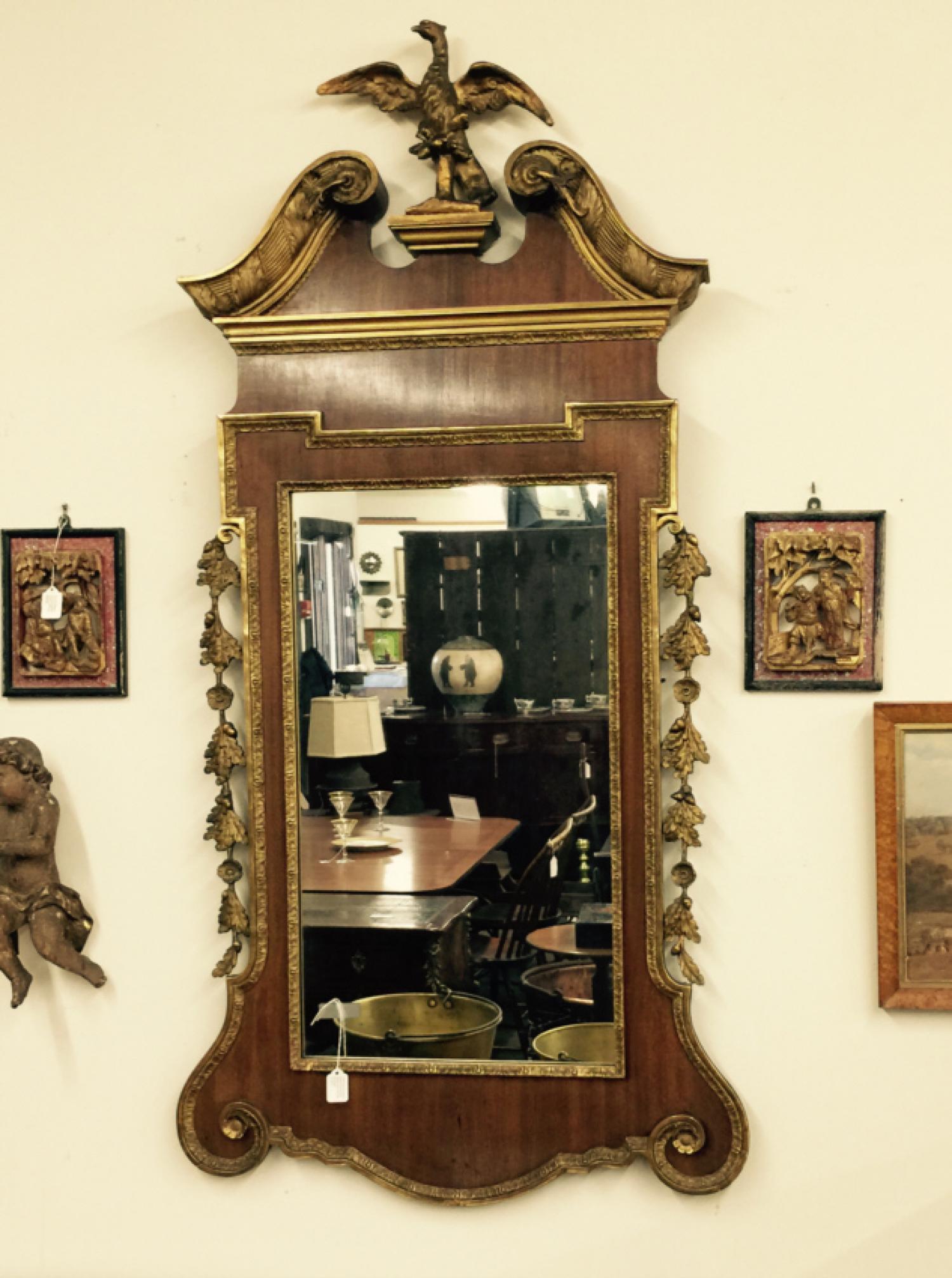 American Centennial period Federal style mirror c1875