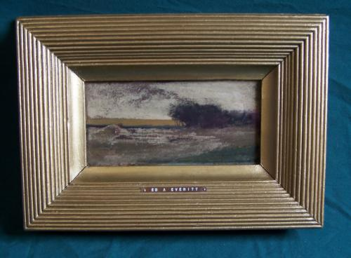Allen Edward Everitt watercolor landscape c1870