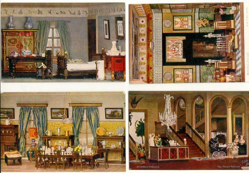 Tucks Post Cards of Titanias Palace