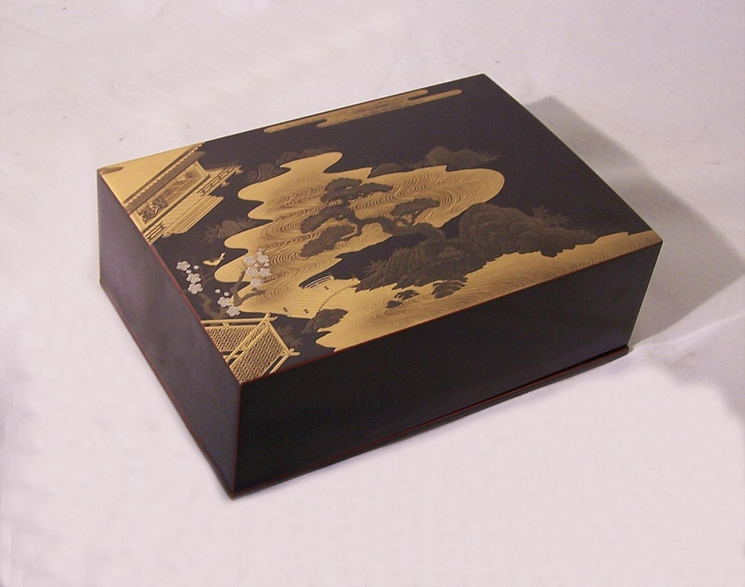 Japanese vintage lacquer box