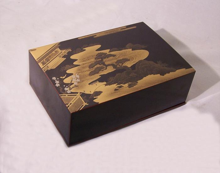 Japanese vintage lacquer box