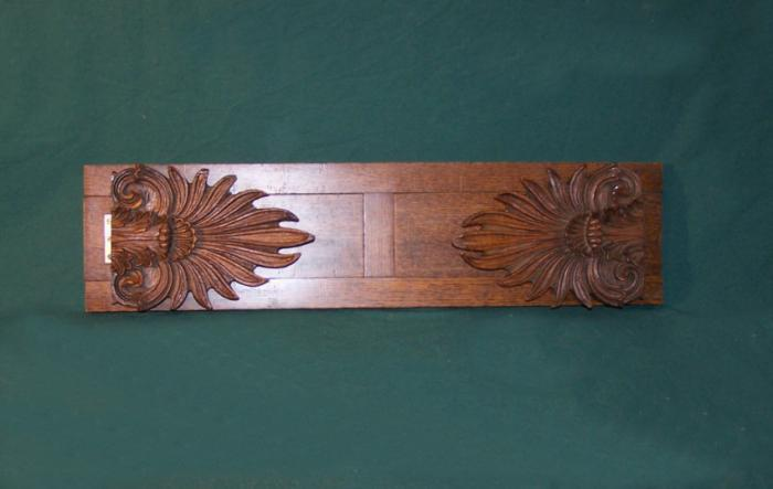 Vintage carved oak adjustable book holder c1900