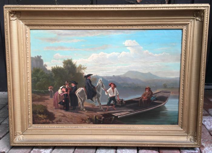 Abraham Andre Zwahlen oil painting c1880