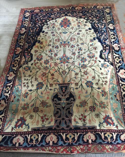 Antique Sarouk Persian carpet  c1900