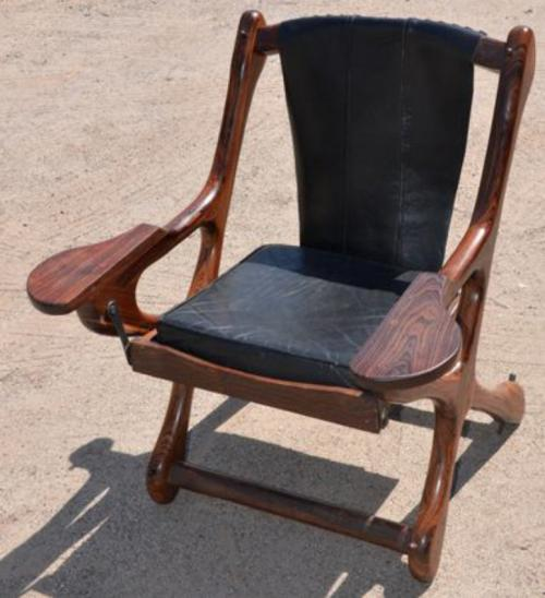 Vintage Don Shoemaker Senal rosewood chair 1970