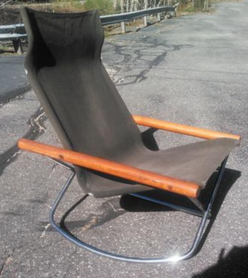 Vintage Takeshi Nii NY rocking chair  Japan 1958