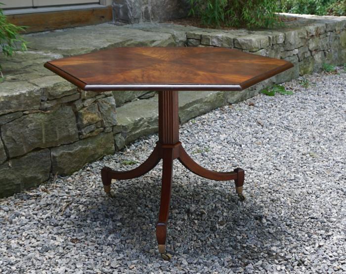 Vintage Beacon Hill Regency style breakfast table