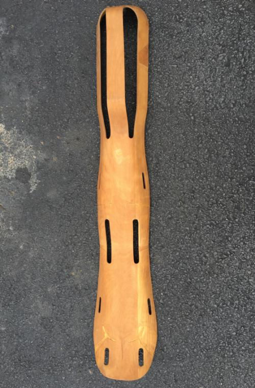 Rare Charles and Ray Eames plywood leg splint c1940