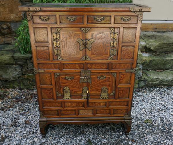 Antique Korean Bandaji Cabinet C1865