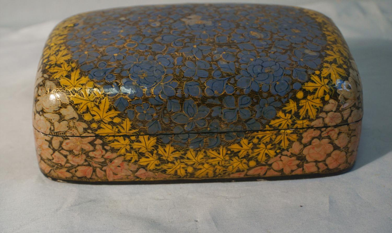 Indian Kashmiri paper mache box