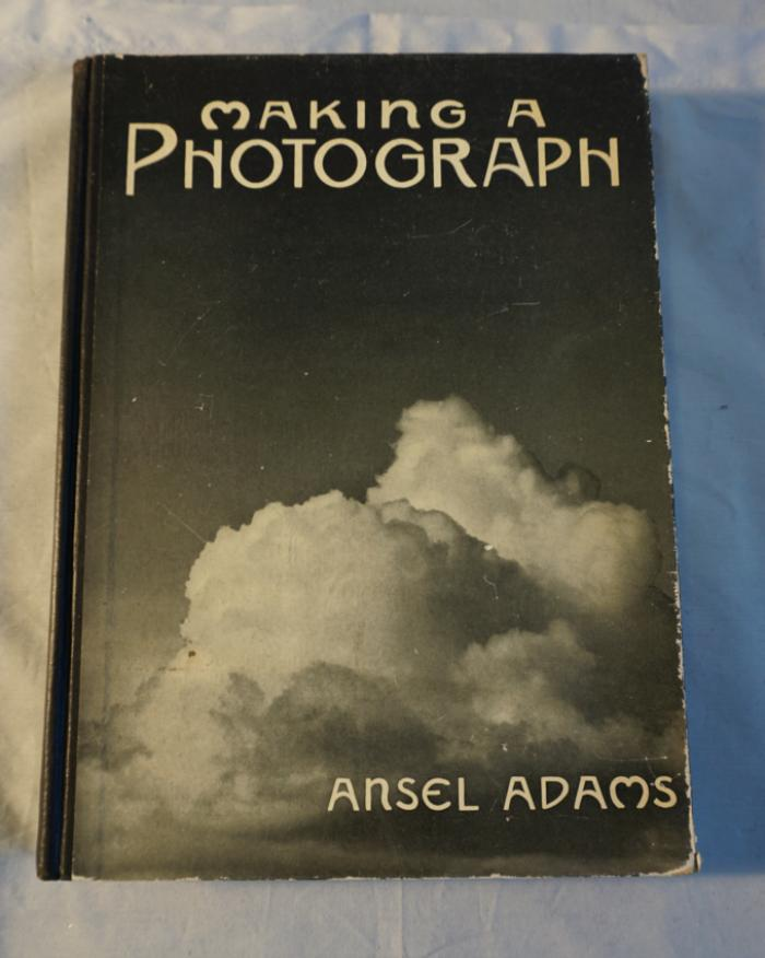 Making A Photograph by Ansel Adams The Studio Edition 1935