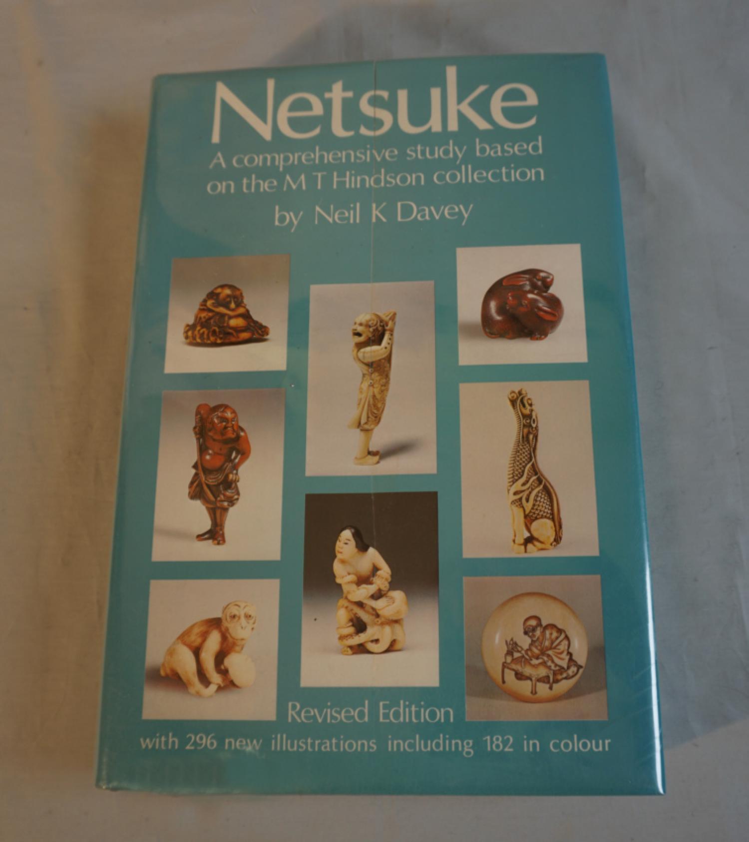 Netsuke by Neil K Davey revised 1982 edition
