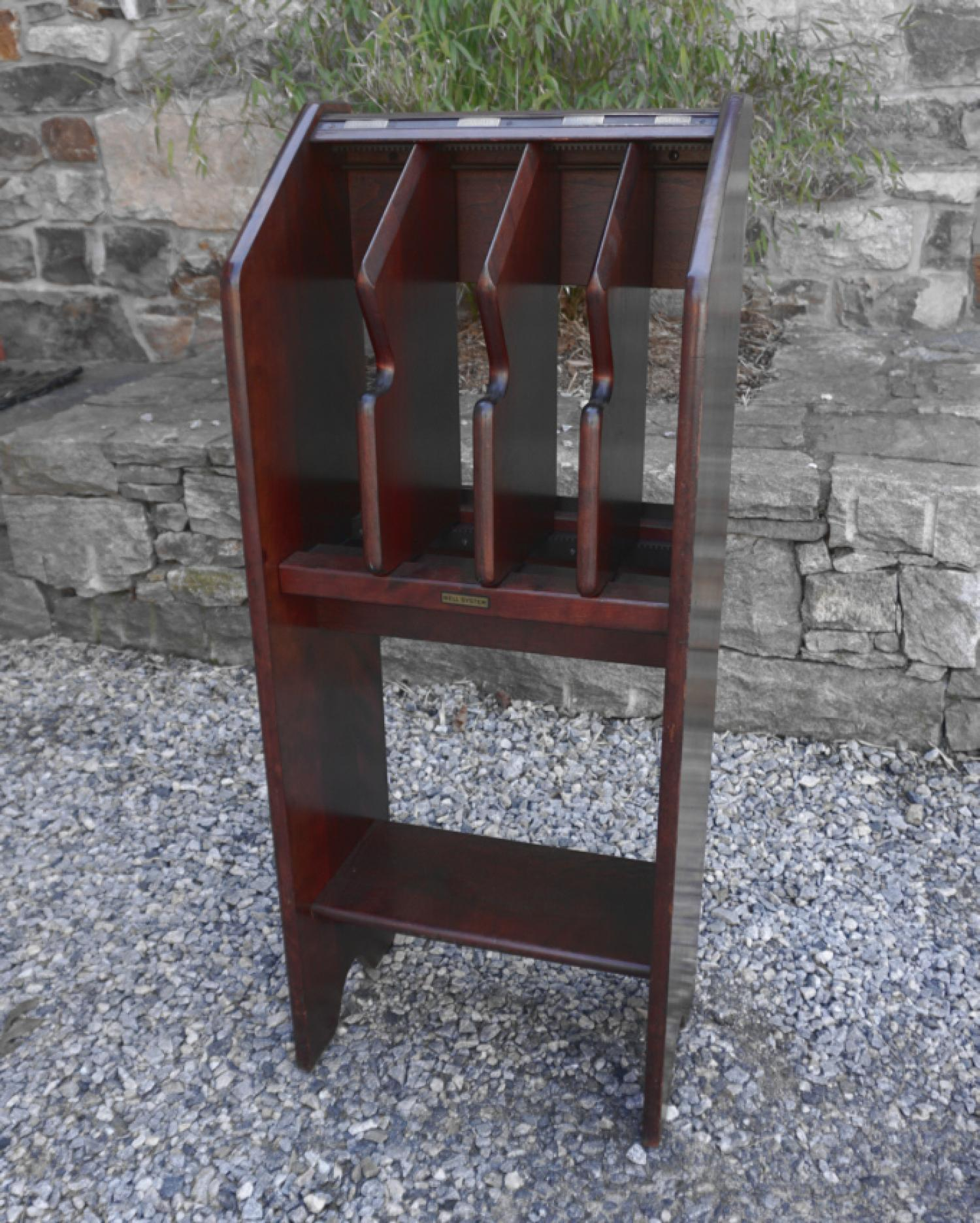 Bell System NYC telephone directory stand for NYC