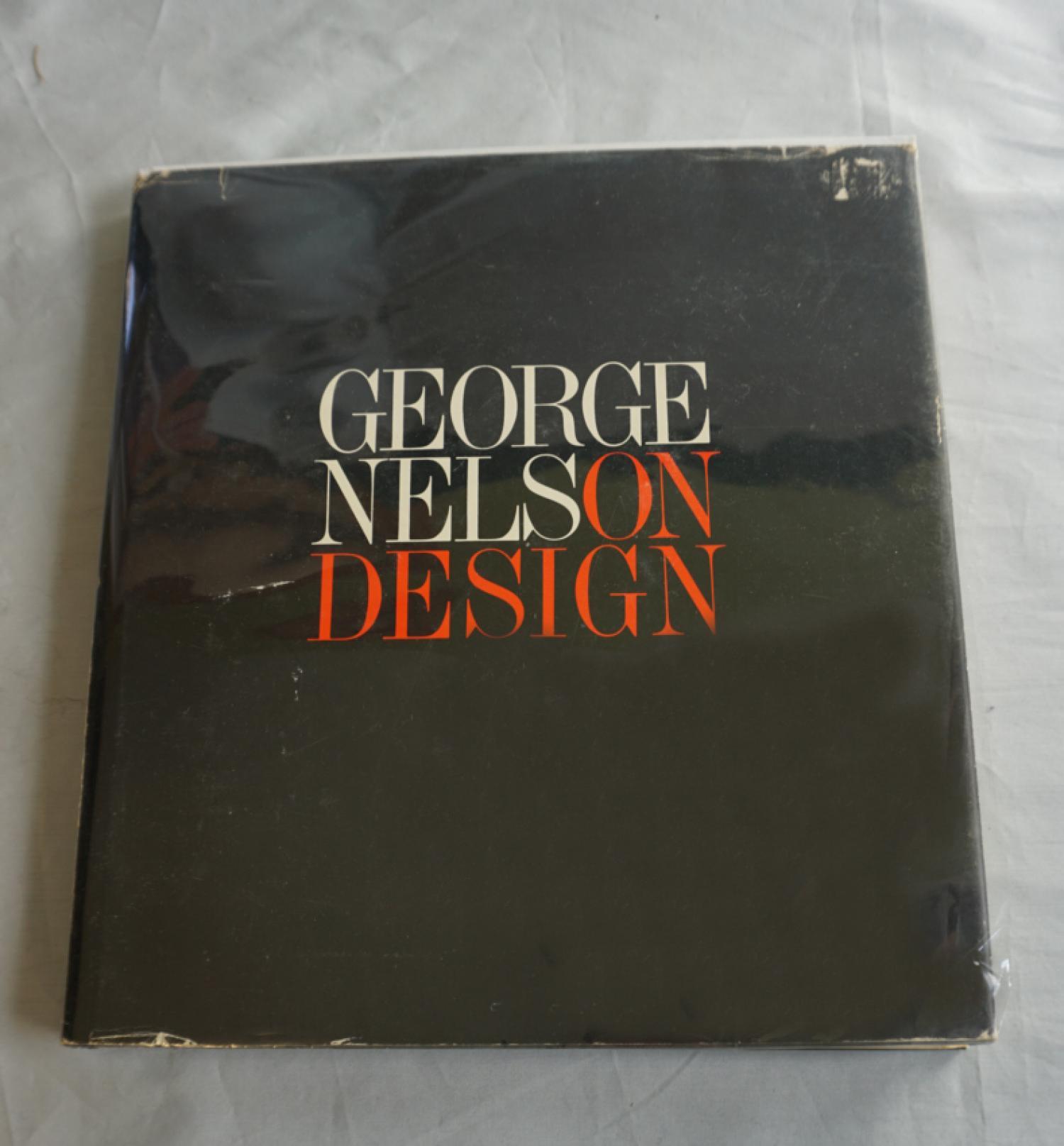 george nelson design book first edition 1979. Black Bedroom Furniture Sets. Home Design Ideas