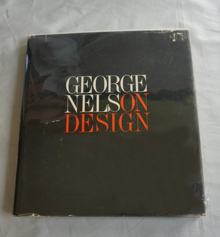 George Nelson Design book first edition 1979
