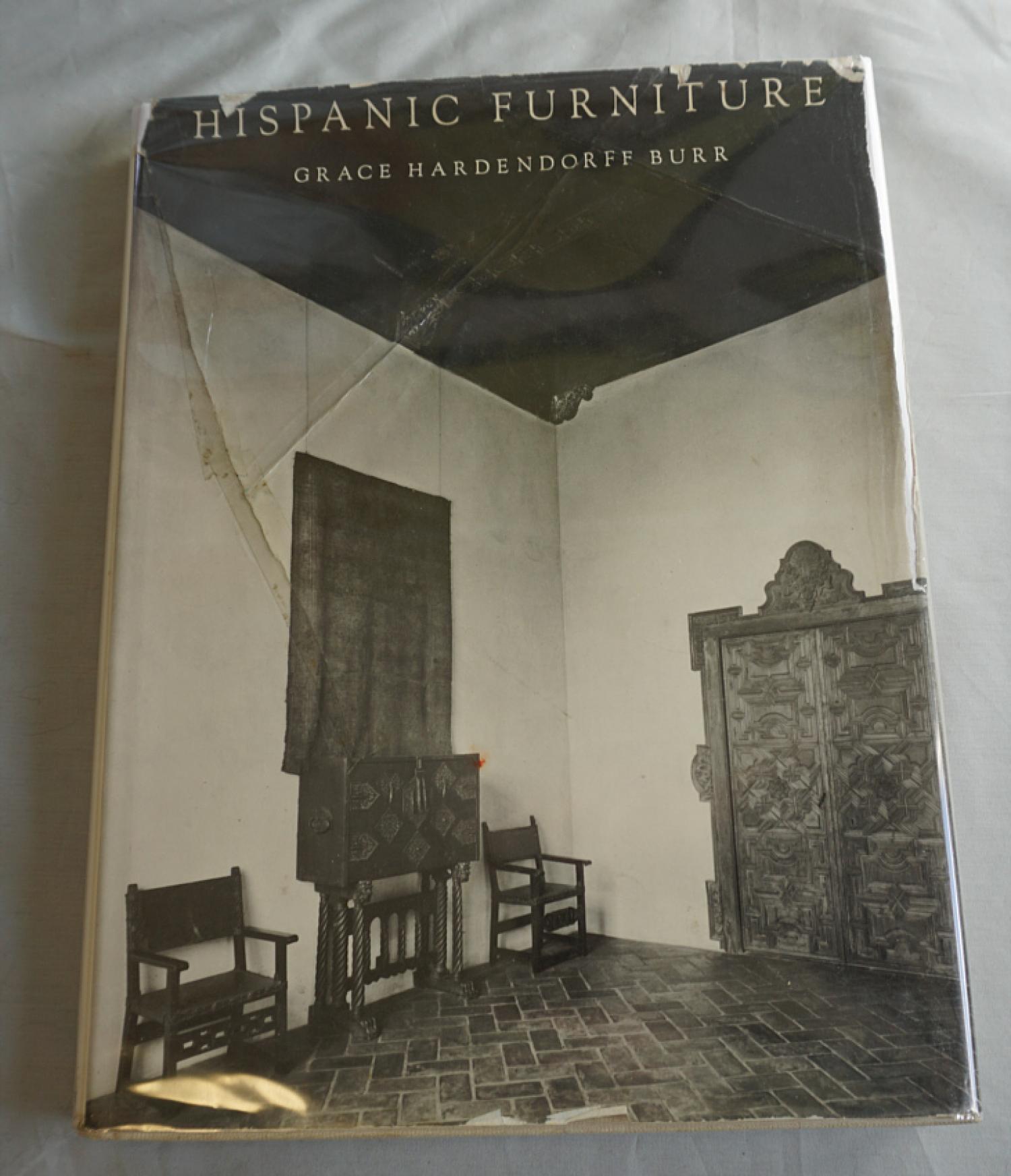 Hispanic Furniture by Grace Hardendorff Burr 1964