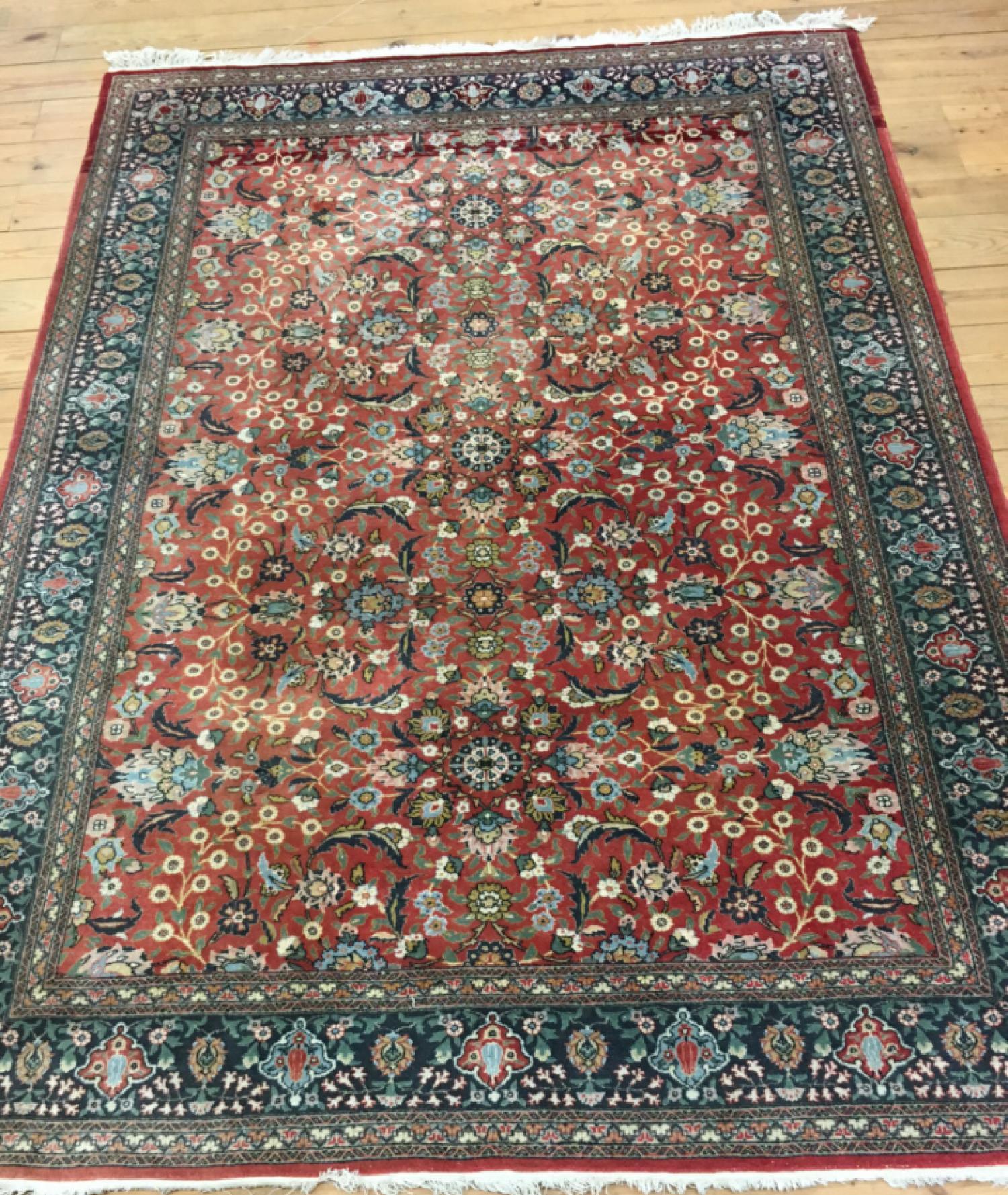 Vintage Persian Sarouk style oriental rug c1950