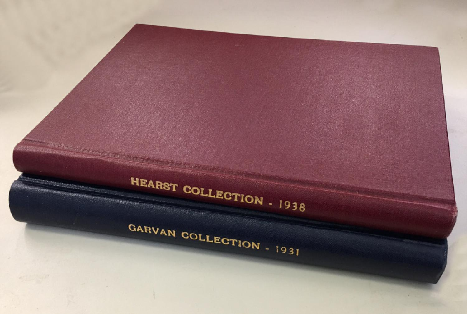 1931 Garvan Collection and 1938 Hearst Collection Part II auction catalogues