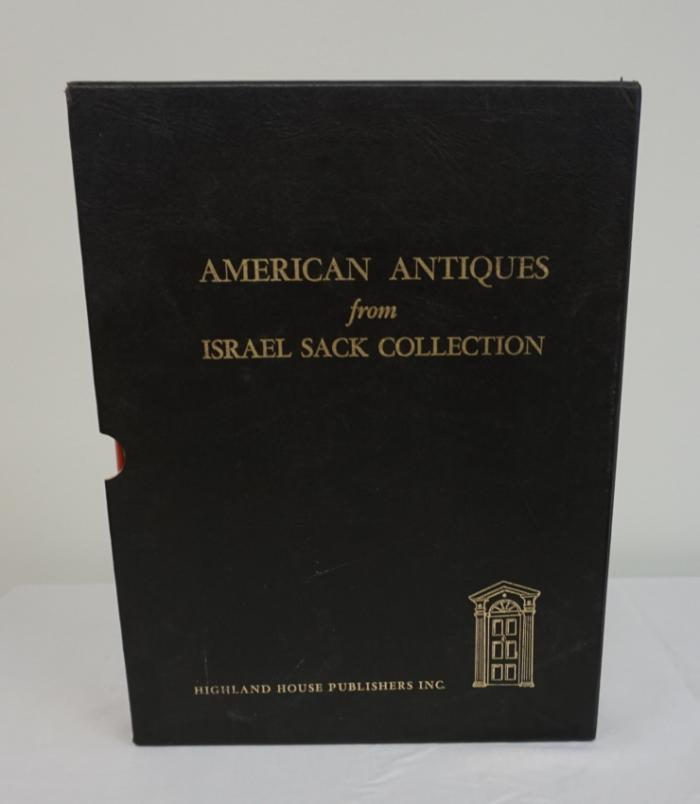 American Antiques from Israel Sack Collection 2 Vol 1969