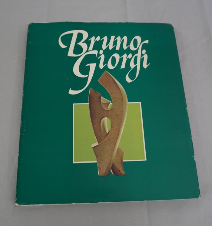 Bruno Giorgi by M A Marcondes Sao Paulo Brazil 1980 1st ed
