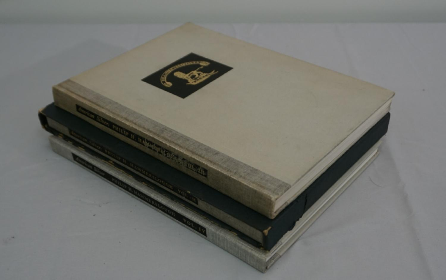 American Silver Collected by Philip H Hammerslough  3 volumes