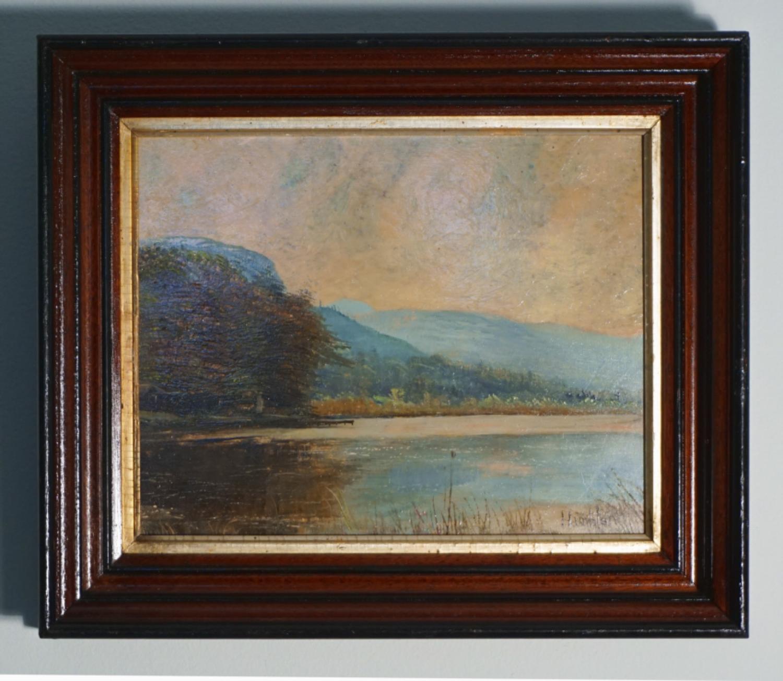 Robert Hamblen oil landscape c1950